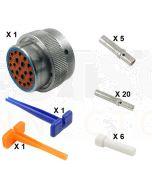 Deutsch HD30 Series M36-24-21SE Connector Kit