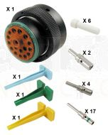 Deutsch HDP20 Series P26-24-18PN Connector Kit