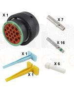 Deutsch HDP20 Series P26-24-19SN Connector Kit
