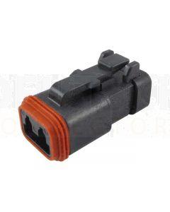 Deutsch DT06-2S-EP06 DT Series 2 Socket Plug