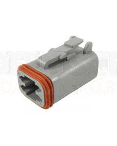 Deutsch DT06-4S-C015 DT Series 4 Socket Plug