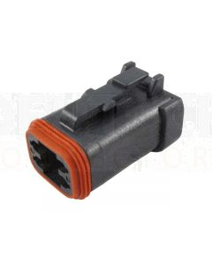 Deutsch DT06-4S-EP06 DT Series 4 Socket Plug
