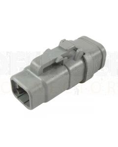 Deutsch DTM06-4S-E007 DTM Series 4 Socket Plug