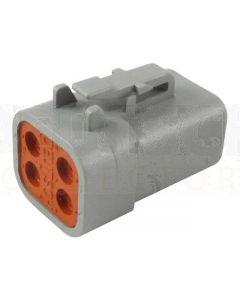 Deutsch DTP06-4S DTP Series 4 Socket Plug