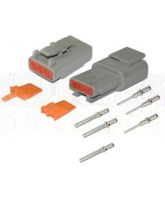 Deutsch DTM Series 3 Way Connector Kit