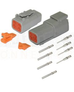 Deutsch DTM Series 4 Way Connector Kit