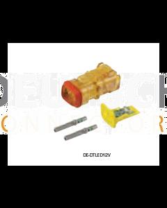 Deutsch DTLED-12V DT Detector Kit
