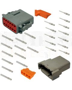 Deutsch DTM Series 12 Way Connector Kit