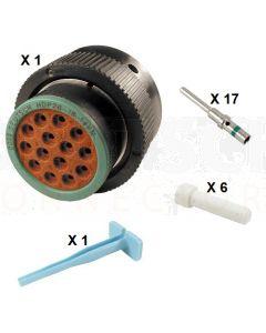 Deutsch HDP20 Series P26-18-14PN Connector Kit