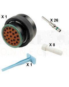 Deutsch HDP20 Series P26-24-23PN Connector Kit